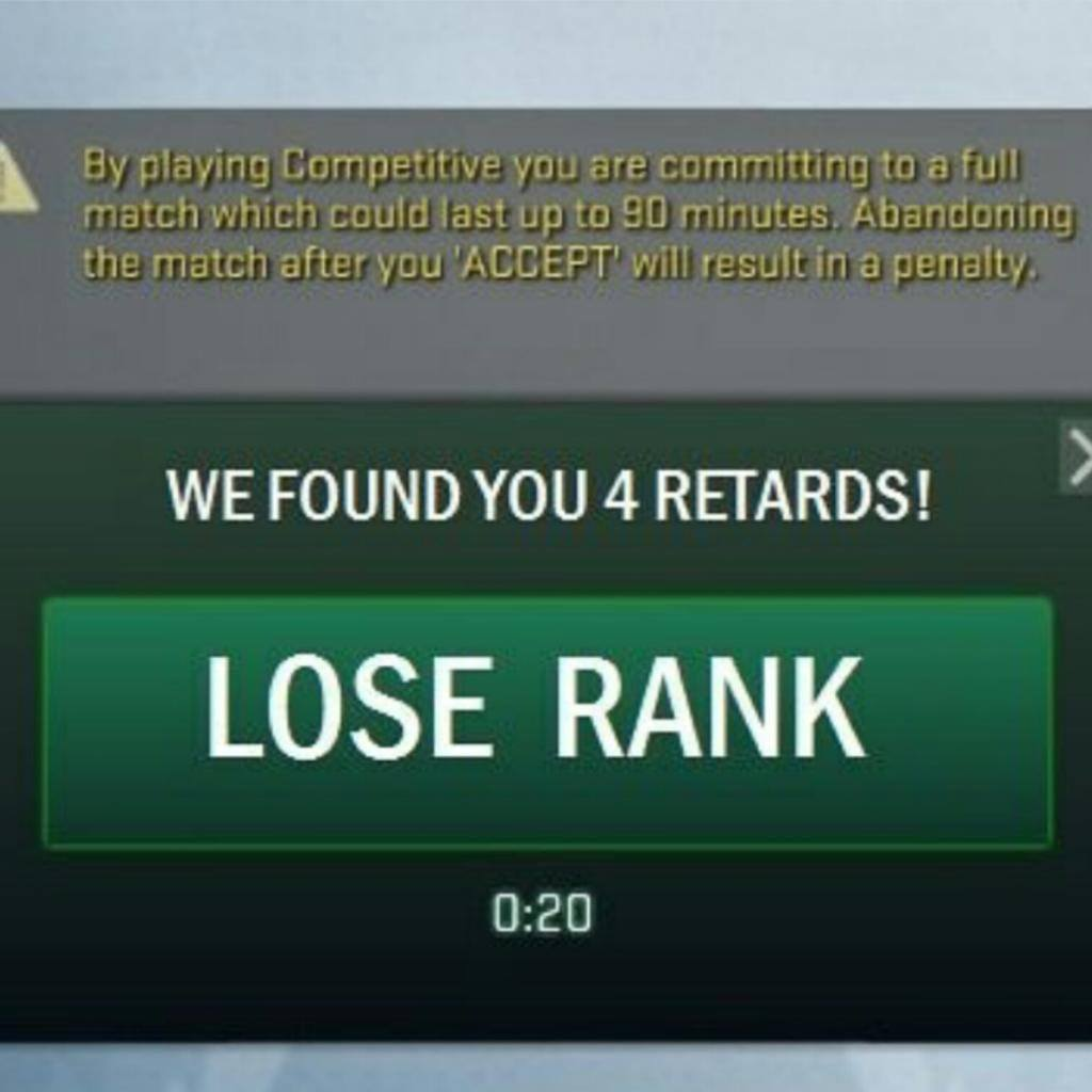 4 retards in rank